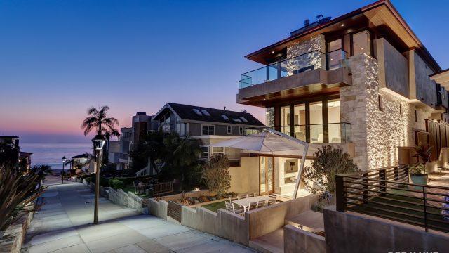 Résidence de luxe personnalisée - 205 20th Street, Manhattan Beach, CA, États-Unis - Vue sur l'océan