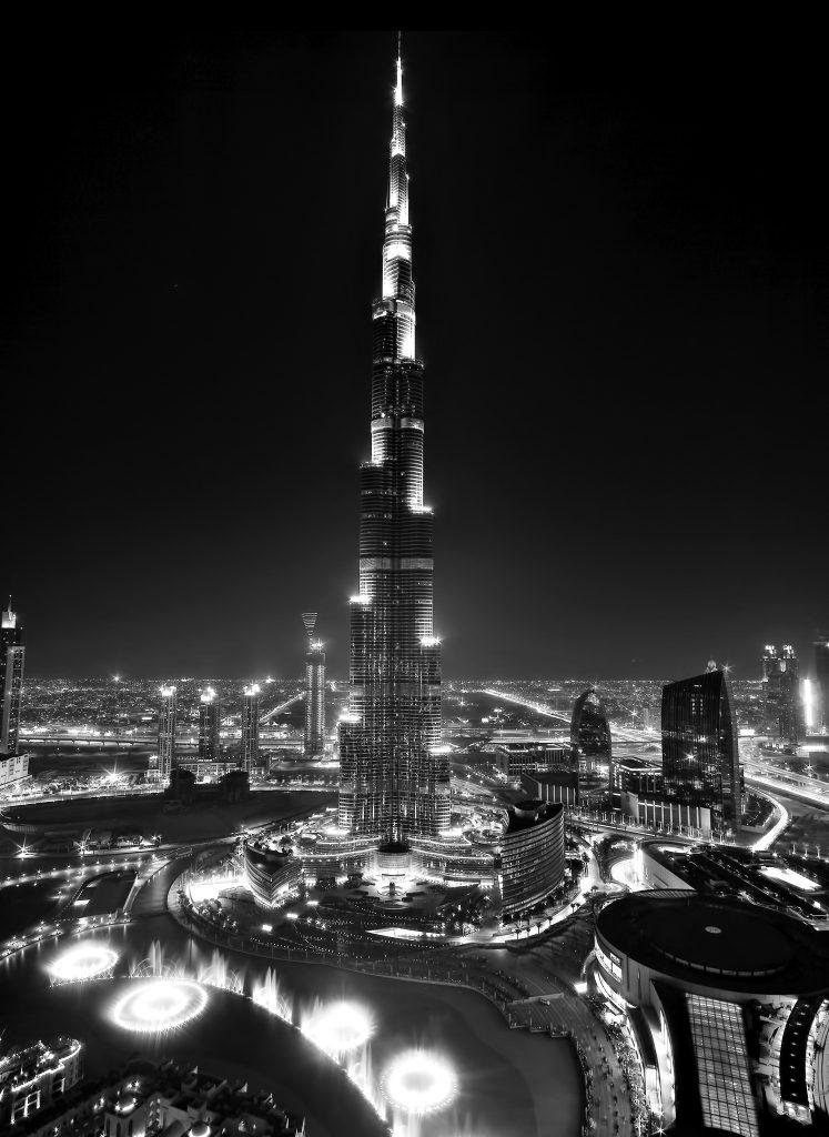 Armani Hotel Dubai - Burj Khalifa, Dubai, UAE - Burj Dubai Skyscraper