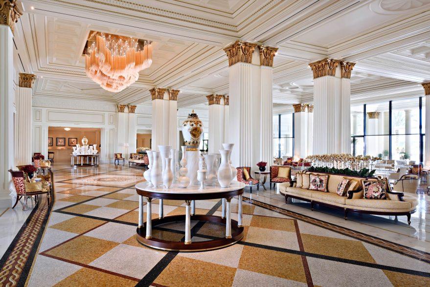 Palazzo Versace Dubai Hotel - Jaddaf Waterfront, Dubai, UAE - Lobby Interior