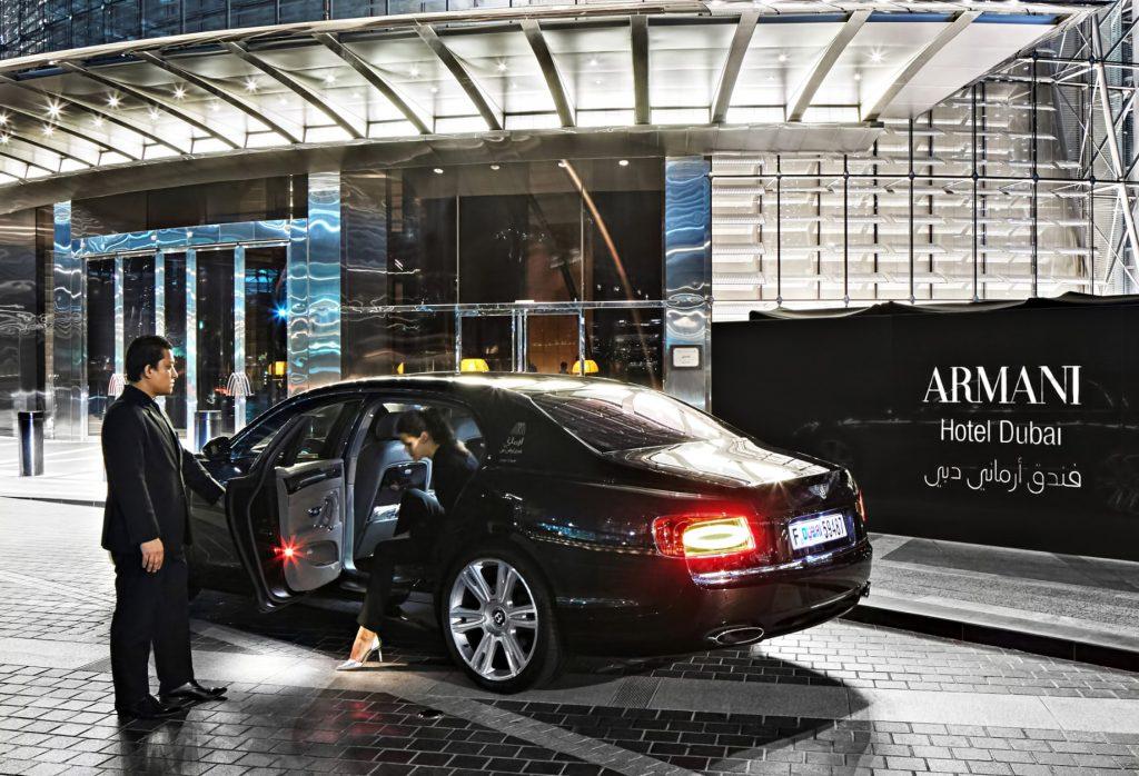 Armani Hotel Dubai - Burj Khalifa, Dubai, UAE - Arrival Concierge