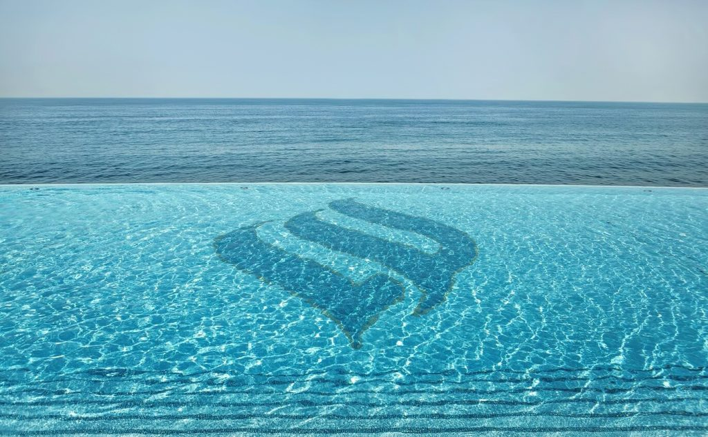 Burj Al Arab Luxury Hotel - Jumeirah St, Dubai, UAE - Burj Al Arab Terrace Infinity Pool