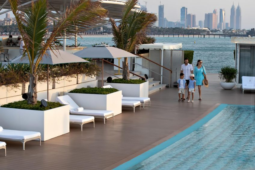 Burj Al Arab Luxury Hotel - Jumeirah St, Dubai, UAE - Burj Al Arab Terrace Poolside