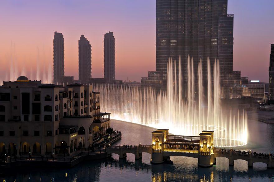 Armani Hotel Dubai - Burj Khalifa, Dubai, UAE - Dubai Fountain