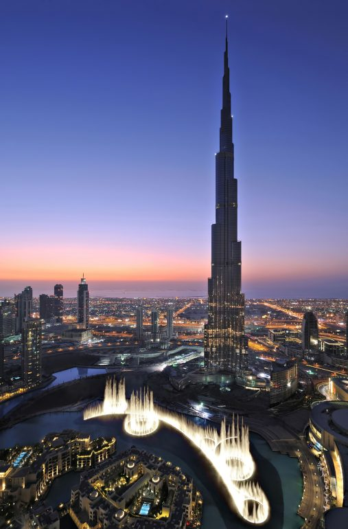 Armani Hotel Dubai - Burj Khalifa, Dubai, UAE - Burj Khalifa Tower Fountain View