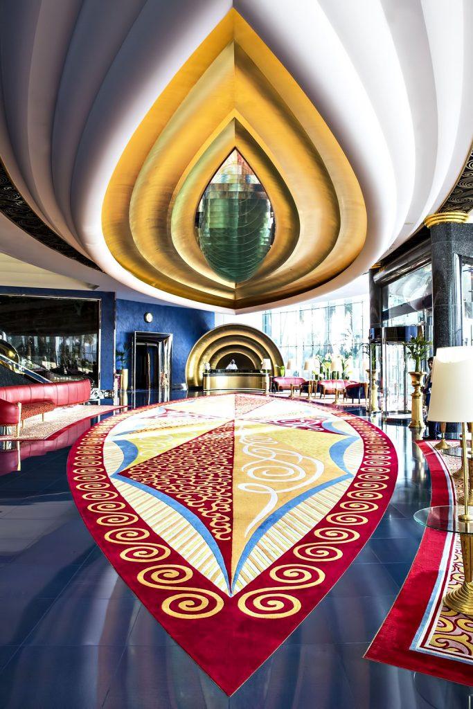 Burj Al Arab Luxury Hotel - Jumeirah St, Dubai, UAE - Lobby