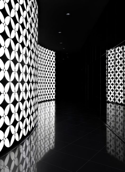 Armani Hotel Dubai - Burj Khalifa, Dubai, UAE - Armani Prive Night Club Interior Entrance