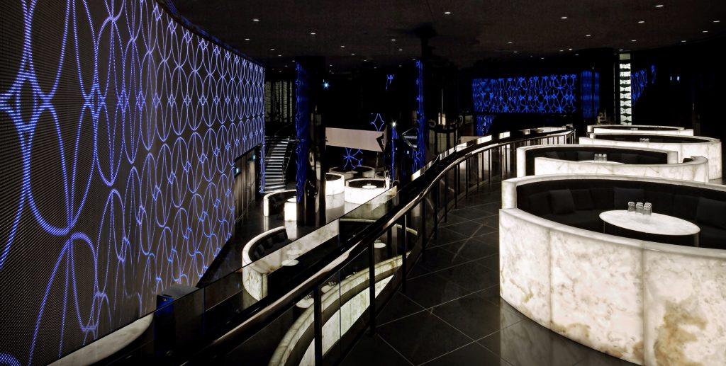 Armani Hotel Dubai - Burj Khalifa, Dubai, UAE - Armani Prive Night Club Interior