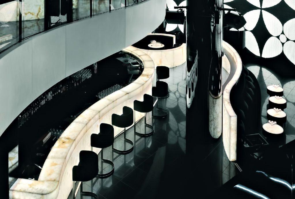 Armani Hotel Dubai - Burj Khalifa, Dubai, UAE - Armani Prive Night Club Bar and Lounge