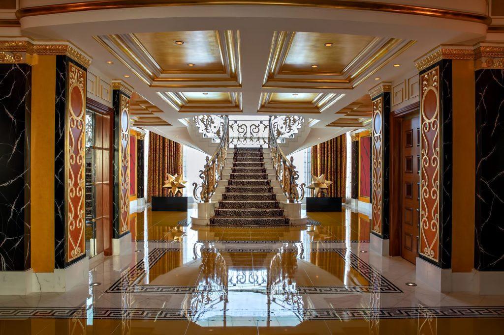 Burj Al Arab Luxury Hotel - Jumeirah St, Dubai, UAE - Royal Suite