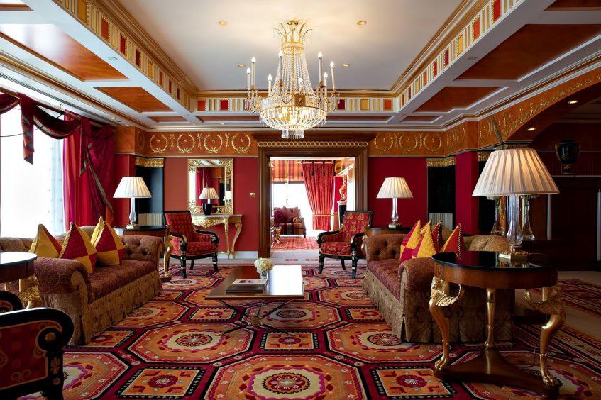 030 - Burj Al Arab Luxury Hotel - Jumeirah St, Dubai, UAE - Royal Suite