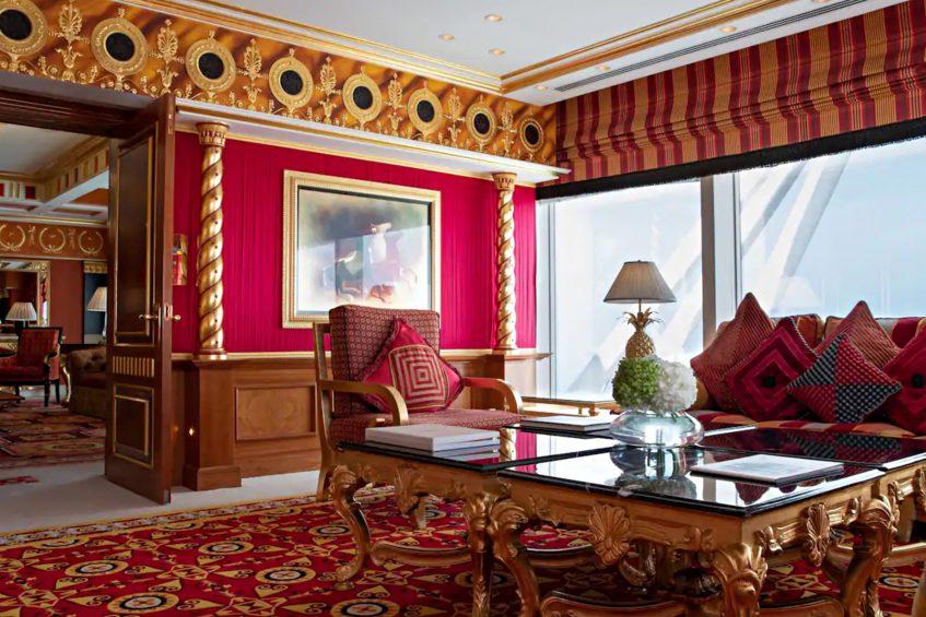 031 - Burj Al Arab Luxury Hotel - Jumeirah St, Dubai, UAE - Royal Suite