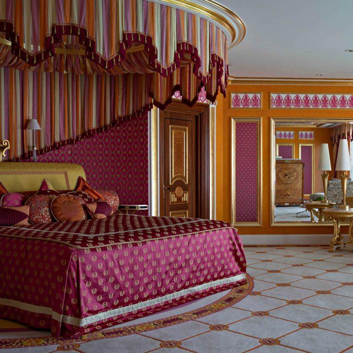 Burj Al Arab Luxury Hotel - Jumeirah St, Dubai, UAE - Royal Suite Bedroom