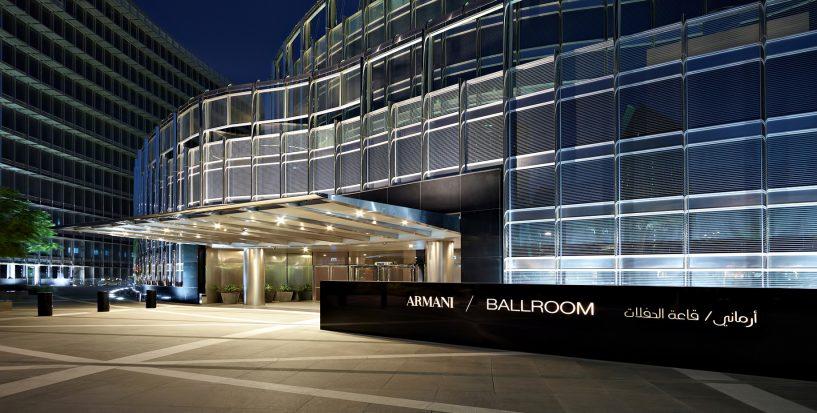 Armani Hotel Dubai - Burj Khalifa, Dubai, UAE - Armani Ballroom Exterior Entrance