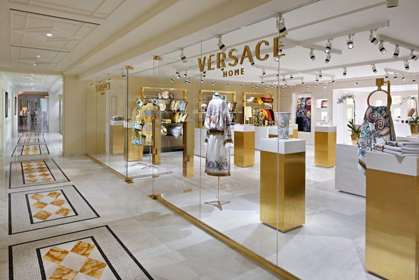 Palazzo Versace Dubai Hotel - Jaddaf Waterfront, Dubai, UAE - Versace Home Store