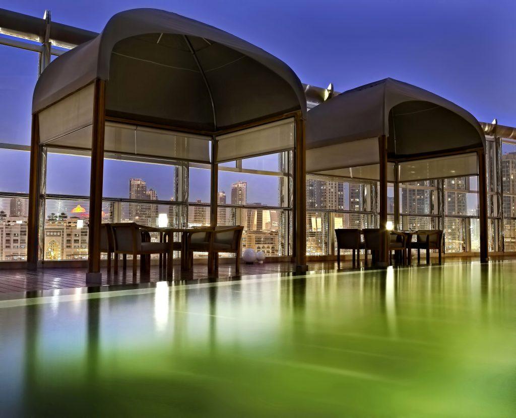 Armani Hotel Dubai - Burj Khalifa, Dubai, UAE - Armani Amal Outdoor Dining Experience