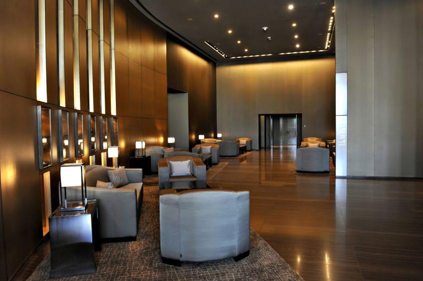 Armani Hotel Dubai - Burj Khalifa, Dubai, UAE - Armani Hotel Interior Entrance Lounge
