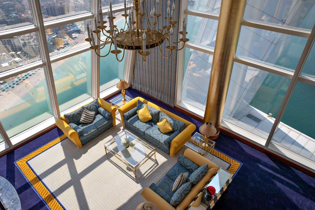 Burj Al Arab Luxury Hotel - Jumeirah St, Dubai, UAE - Club Suite Ocean View