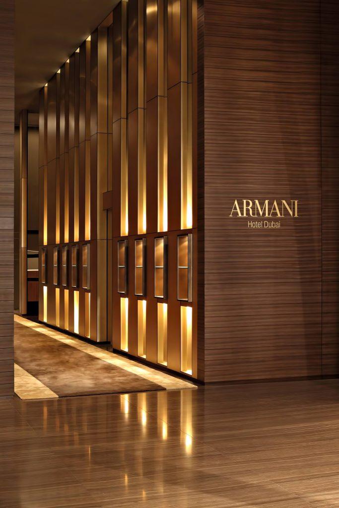 Armani Hotel Dubai - Burj Khalifa, Dubai, UAE - Armani Hotel Interior
