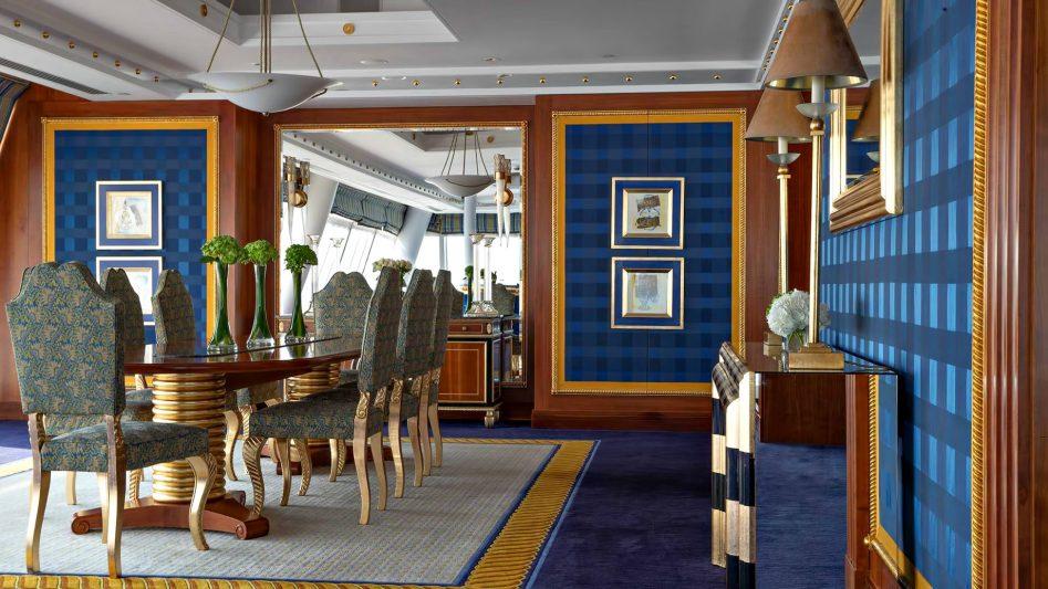 Burj Al Arab Luxury Hotel - Jumeirah St, Dubai, UAE - Diplomatic Suite