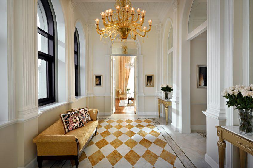 Palazzo Versace Dubai Hotel - Jaddaf Waterfront, Dubai, UAE - Signature Suite Hall