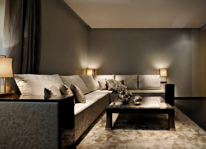 Armani Hotel Dubai - Burj Khalifa, Dubai, UAE - Armani Living Room