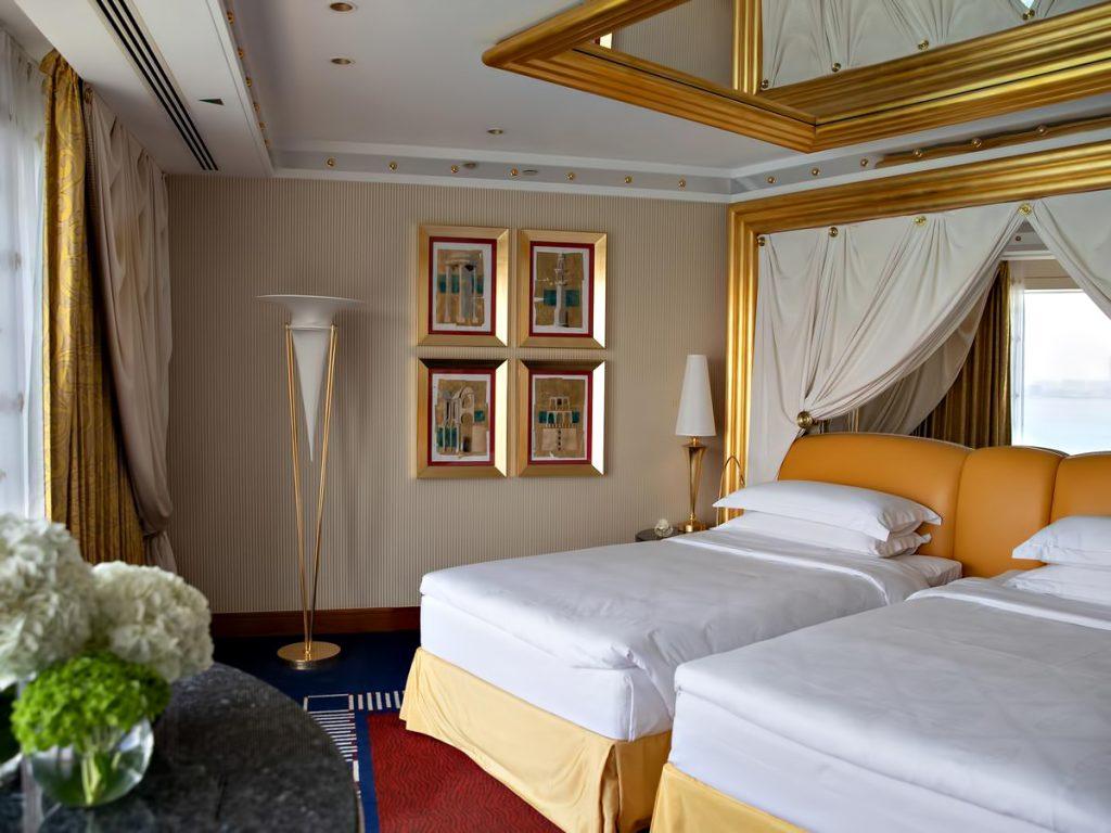 Burj Al Arab Luxury Hotel - Jumeirah St, Dubai, UAE - Suite Bedroom