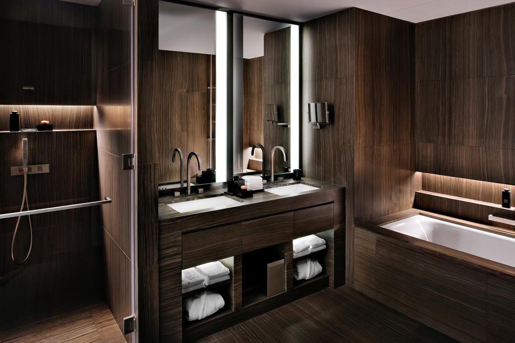 Armani Hotel Dubai - Burj Khalifa, Dubai, UAE - Armani Bathroom