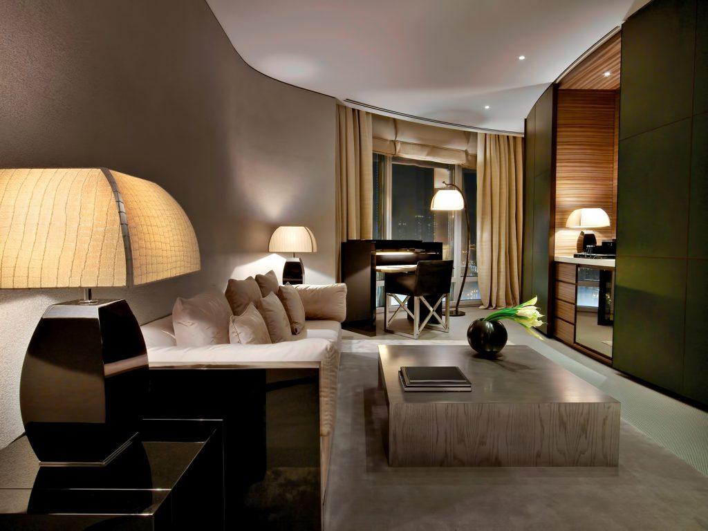 Armani Hotel Dubai - Burj Khalifa, Dubai, UAE - Armani Suite