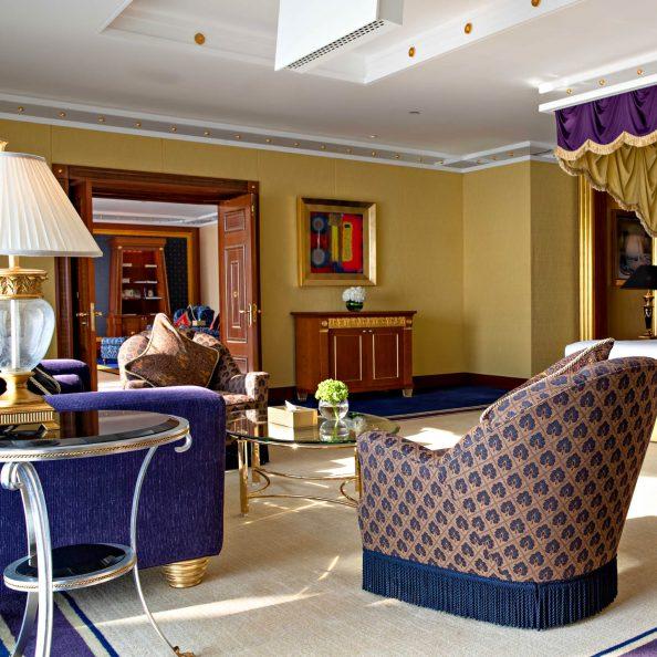 Burj Al Arab Luxury Hotel - Jumeirah St, Dubai, UAE - Presidential Suite