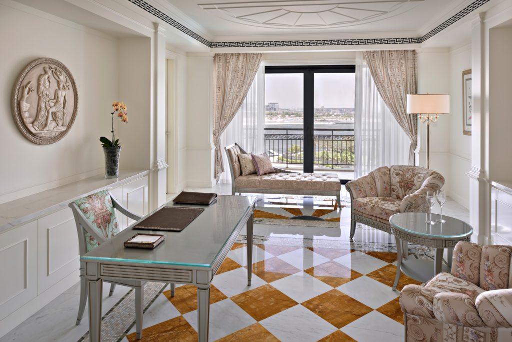 Palazzo Versace Dubai Hotel - Jaddaf Waterfront, Dubai, UAE - 4 Bedroom Residence Study