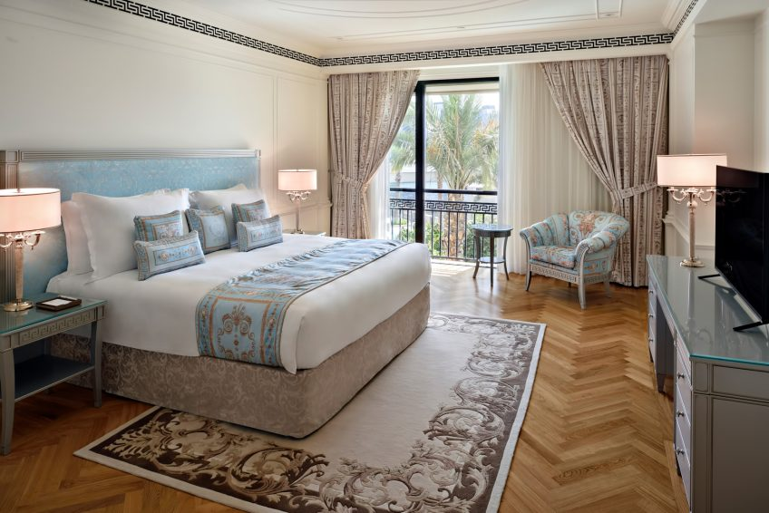 Palazzo Versace Dubai Hotel - Jaddaf Waterfront, Dubai, UAE - 6_Bedroom Residence Bedroom