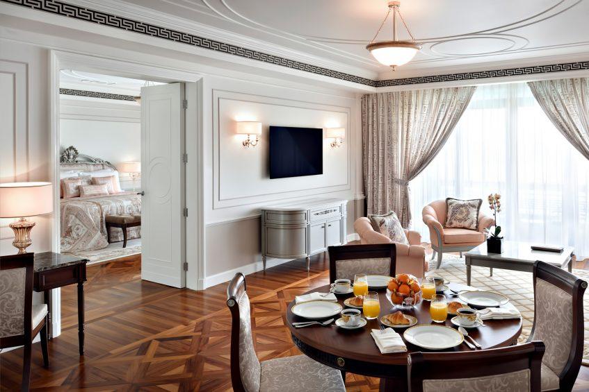 Palazzo Versace Dubai Hotel - Jaddaf Waterfront, Dubai, UAE - Grand Suite Living and Dining Room