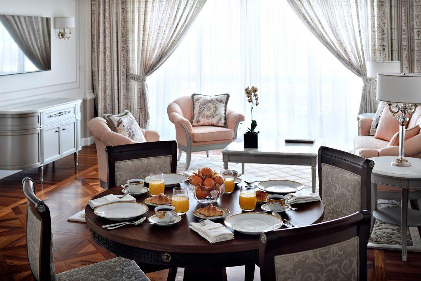 Palazzo Versace Dubai Hotel - Jaddaf Waterfront, Dubai, UAE - Grand Suite Dining Room