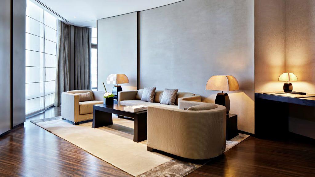 Armani Hotel Dubai - Burj Khalifa, Dubai, UAE - Armani Suite Lounge Area