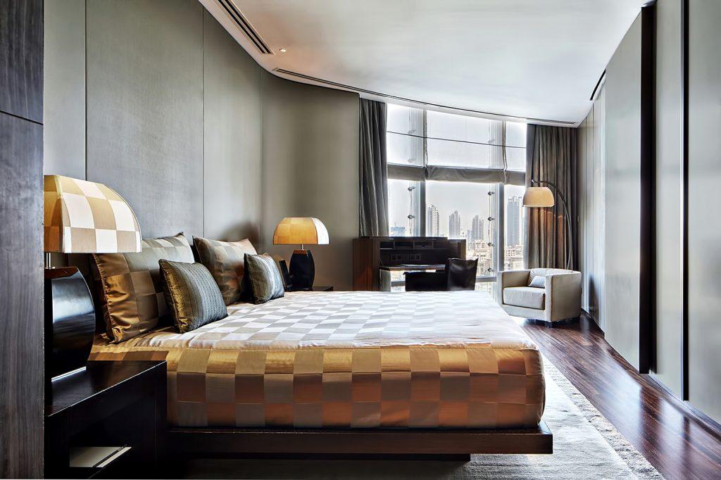 Armani Hotel Dubai - Burj Khalifa, Dubai, UAE - Armani Executive Suite Bedroom