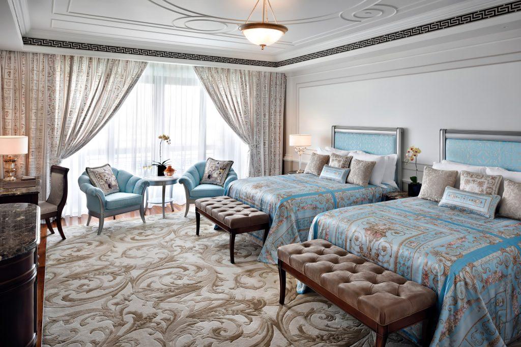 Palazzo Versace Dubai Hotel - Jaddaf Waterfront, Dubai, UAE - Permiere Versace Twin Bedroom