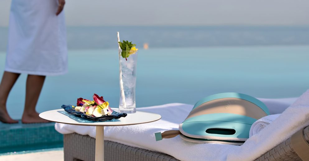 Burj Al Arab Luxury Hotel - Jumeirah St, Dubai, UAE - Terrace Poolside