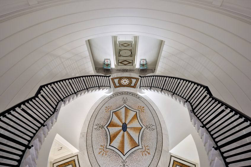 Palazzo Versace Dubai Hotel - Jaddaf Waterfront, Dubai, UAE - Versace 6 Bedroom Residence Stairwell Entrance