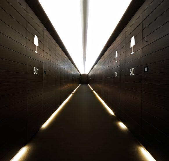 Armani Hotel Dubai - Burj Khalifa, Dubai, UAE - Armani Hotel Hallway