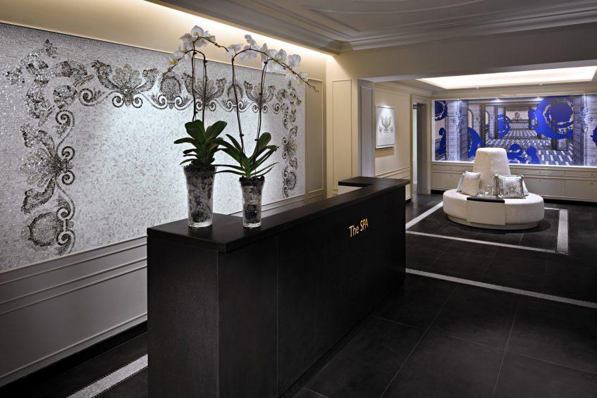 Palazzo Versace Dubai Hotel - Jaddaf Waterfront, Dubai, UAE - The SPA Reception
