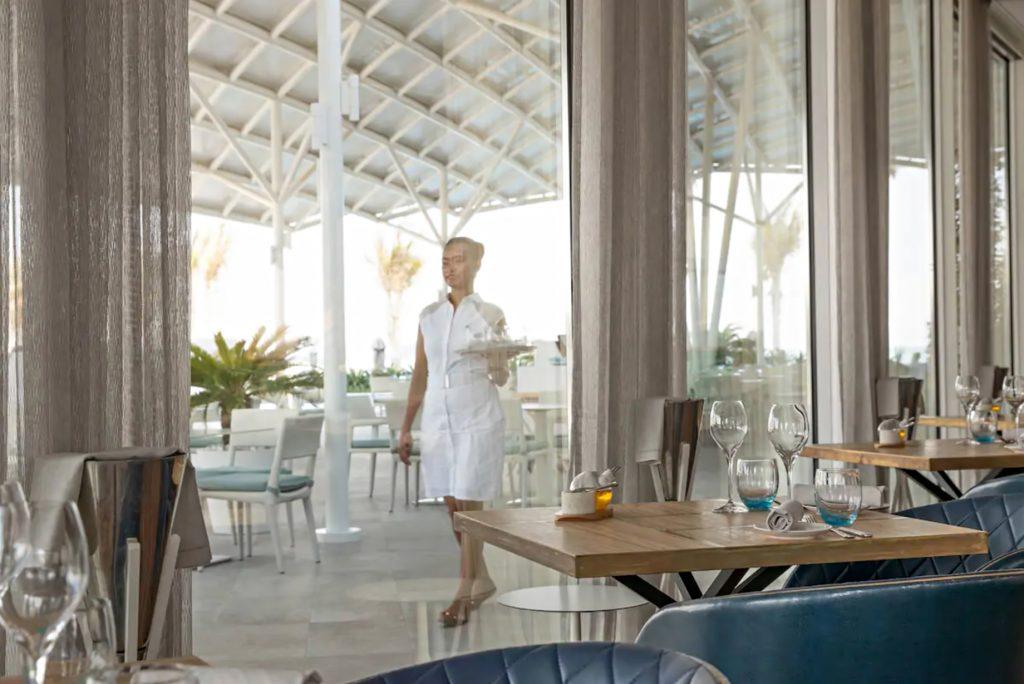 Burj Al Arab Luxury Hotel - Jumeirah St, Dubai, UAE - Scape Restaurant Terrace