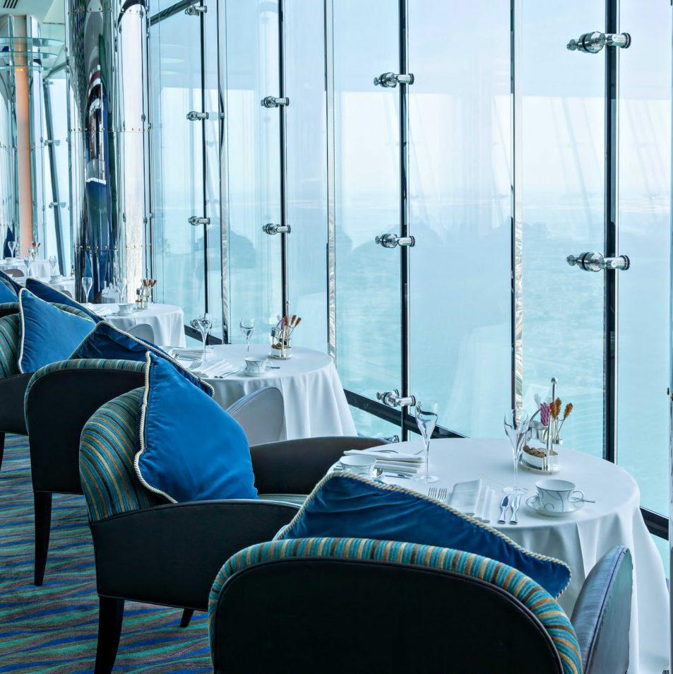 Burj Al Arab Luxury Hotel - Jumeirah St, Dubai, UAE - Skyview Bar Dining Room