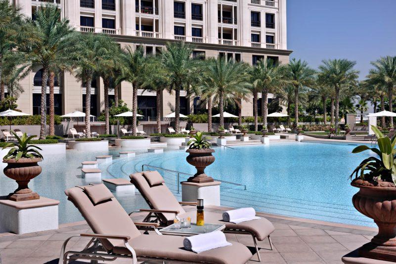 Palazzo Versace Dubai Hotel - Jaddaf Waterfront, Dubai, UAE - La Piscina Poolside