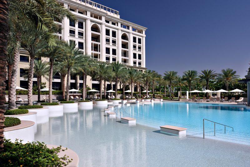 Palazzo Versace Dubai Hotel - Jaddaf Waterfront, Dubai, UAE - East Pool
