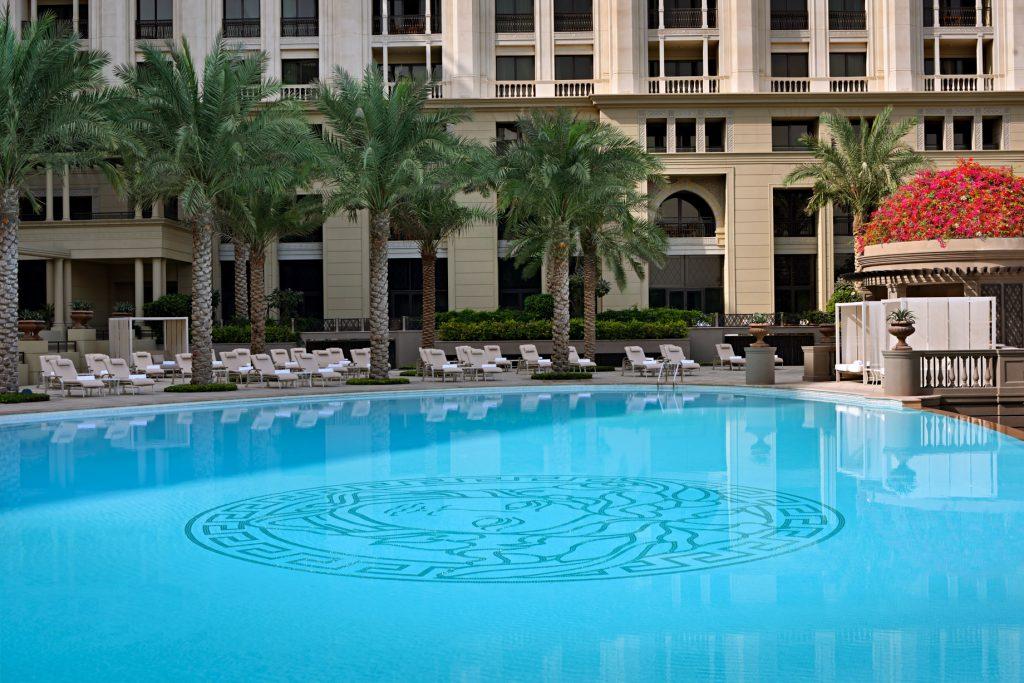 Palazzo Versace Dubai Hotel - Jaddaf Waterfront, Dubai, UAE - Central Pool