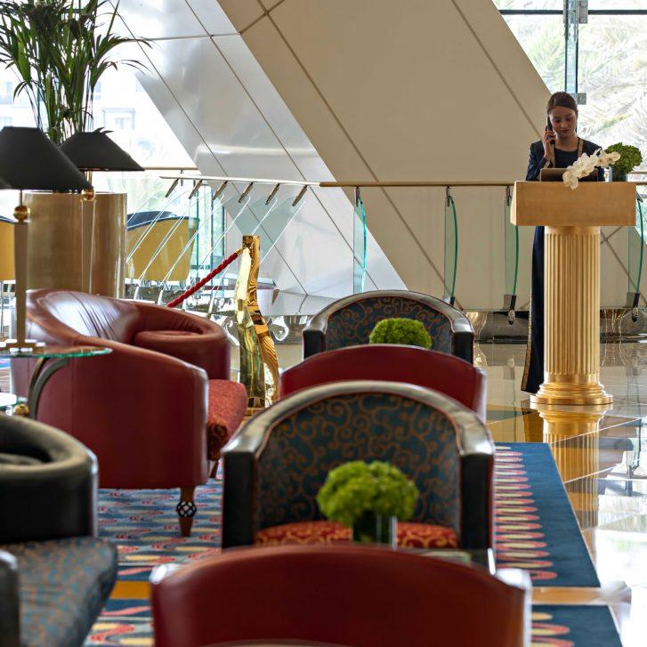 Burj Al Arab Luxury Hotel - Jumeirah St, Dubai, UAE - Sahn Eddar Lounge