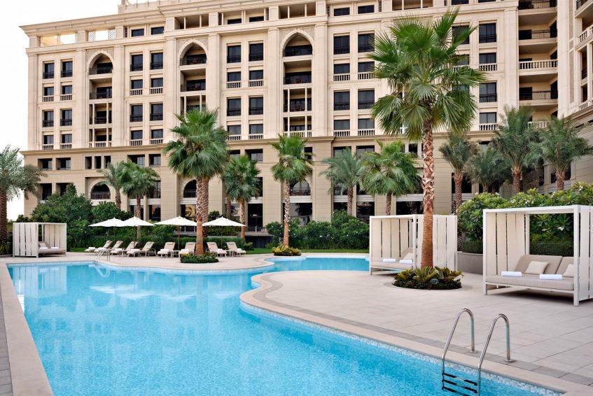 Palazzo Versace Dubai Hotel - Jaddaf Waterfront, Dubai, UAE - West Pool