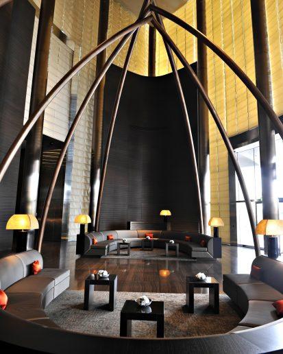 Armani Hotel Dubai - Burj Khalifa, Dubai, UAE - Armani Lobby