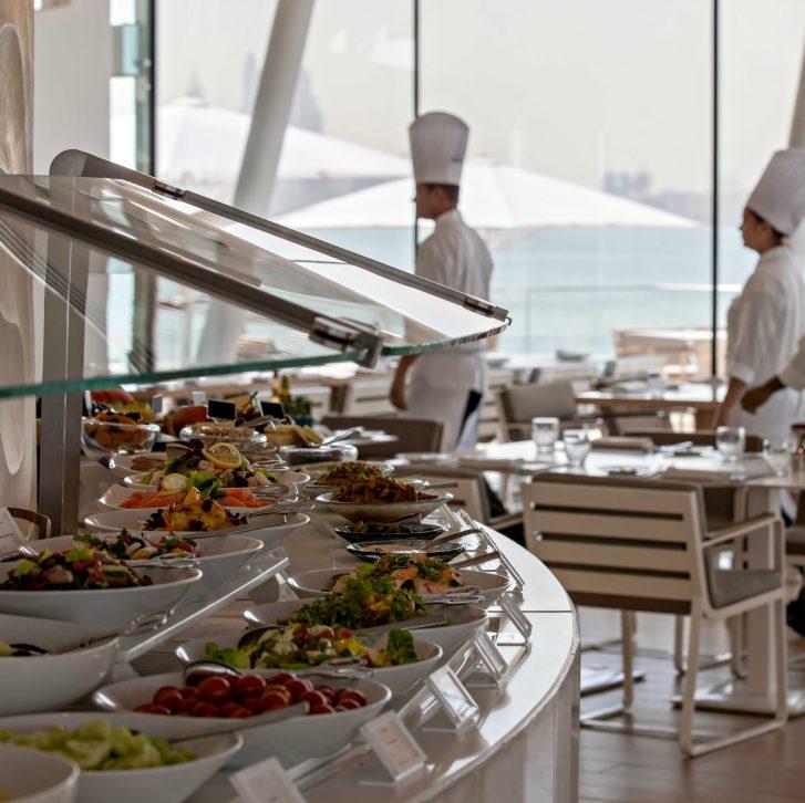 Burj Al Arab Luxury Hotel - Jumeirah St, Dubai, UAE - Bab Al Yam Buffet