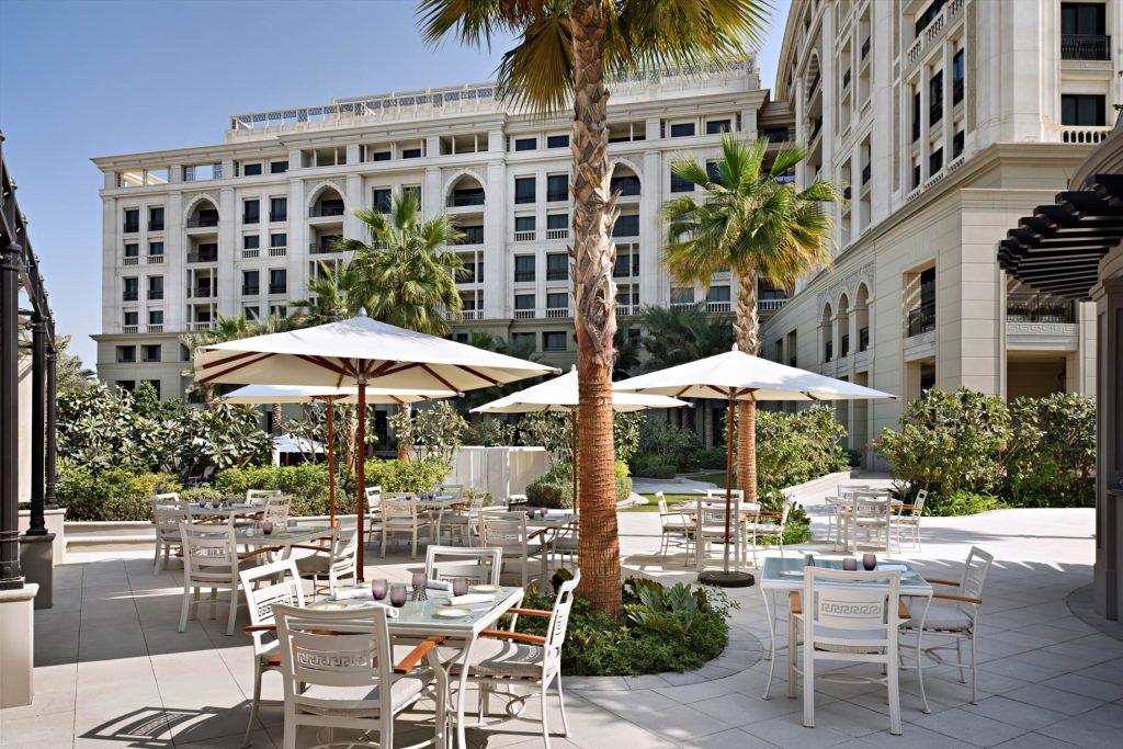 Palazzo Versace Dubai Hotel - Jaddaf Waterfront, Dubai, UAE - Amalfi Restaurant Deck